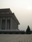 The building where Chairman Mao's body lies, or as Shane likes to call it, the Mao-suleum